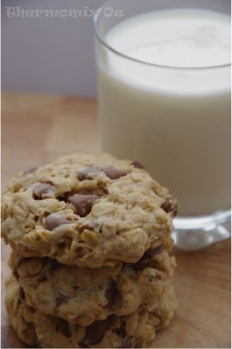 Thermomix Oz: Chunky Dunk-able Oatmeal Cookies