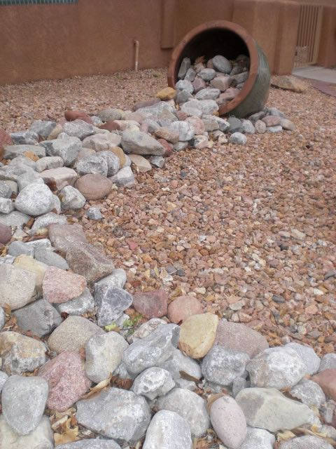 Xeriscape Landscaping | DESERT PATHS | n.b. - For front yard transition area under old mesquite toward roadside ( visible from porch )where small rocks are already dumped