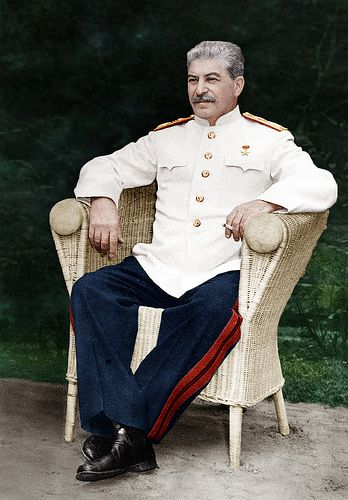 Joseph Stalin July 1945 at the POTSDAM CONFERENCE