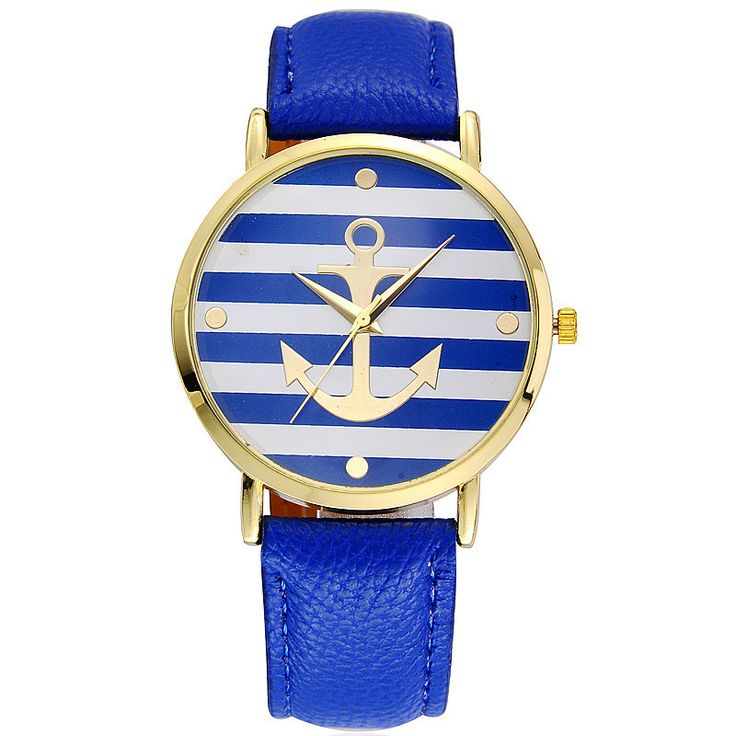 Ahoy! Anchor Watch in Blue