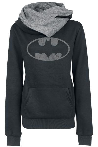 this sweatshirt is lovely, is medium, is of color black, is of wool, has one pocket ,has a  turtle neck , has the print of batman,  has a costs of two hundred  dollar