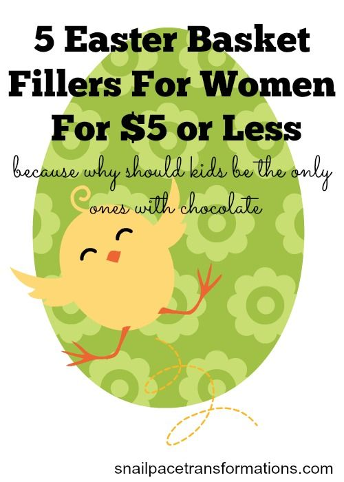 Got a woman in you life who you want to give a gift to this Easter? Here are 5 Easter basket fillers for $5 or less for women.