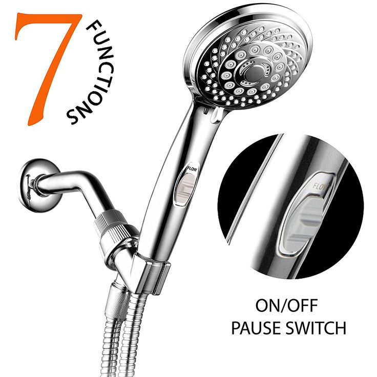 HotelSpa 7-Setting Handheld Shower Head - 11 Best Bathroom Accessories