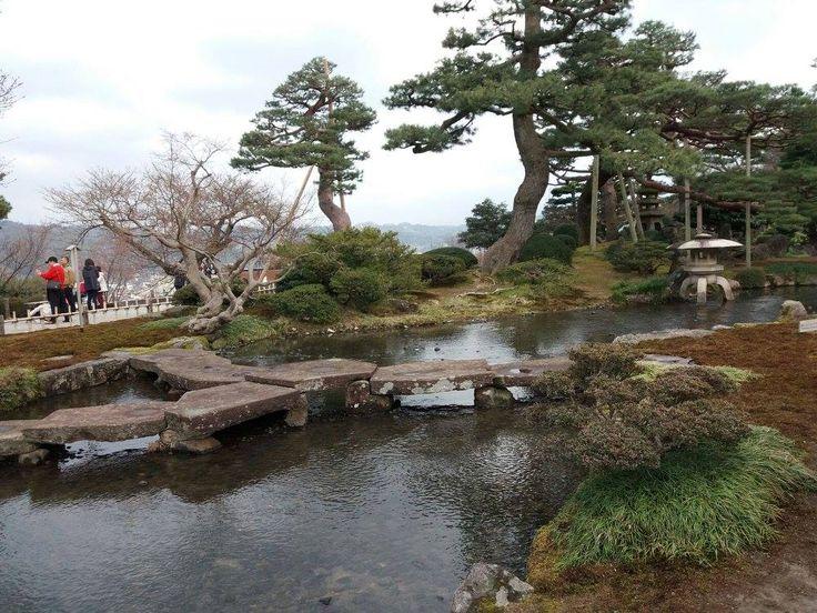 În Kanazawa.