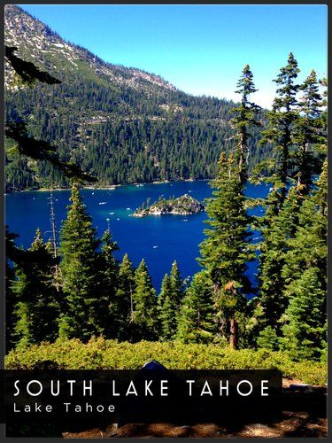Postcard of South Lake Tahoe