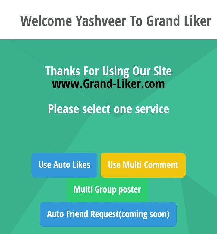 Get Free Facebook Likes and Autocomments using Grand-liker Android App.  http://rechargetricks.in/get-free-facebook-likes-and-auto-comments-using-grand-liker-android-app.html   #Facebook #Autoliker #liker #Grand-liker #sites #autocomments #likes #free