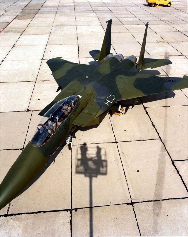 McDonnell Douglas F-15E Prototype I do not support war, but these machines are…