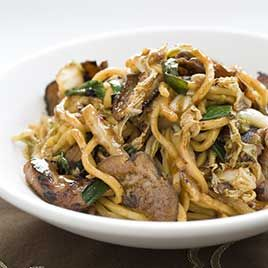 Pork Stir-Fry with Noodles (Lo Mein) Recipe - America's Test Kitchen