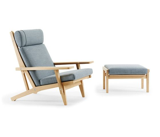 GE 375 High Back Easy Chair De Getama Danmark | Sillones Lounge
