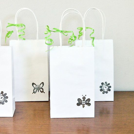 Quick And Easy DIY Dollar-Store Wedding Favor Bags