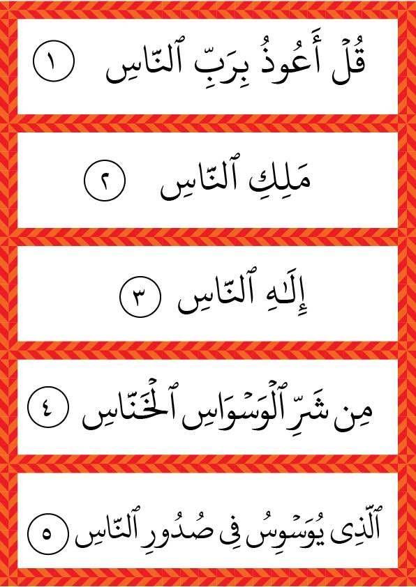 تفسير وتحفيظ سورة الناس للأطفال رياض الجنة Islamic Books For Kids Islamic Kids Activities Learning Arabic