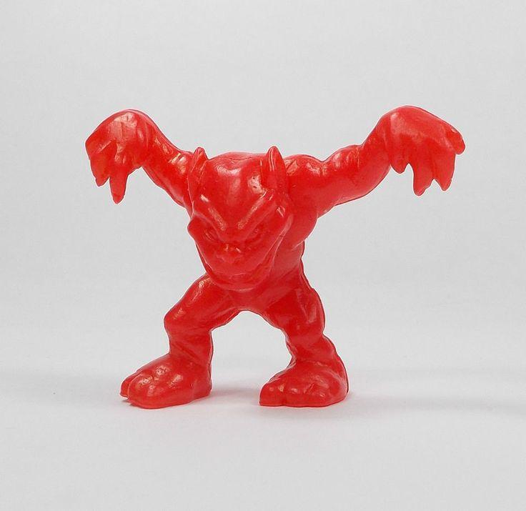 Monster In My Pocket - Series 1 - 35 Gremlin - Red