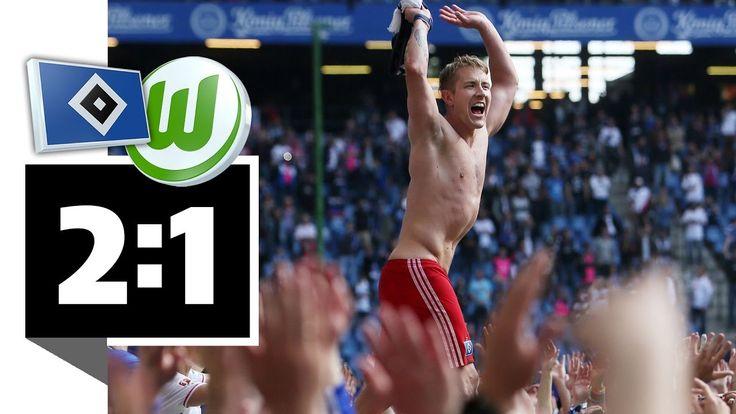 Hamburger SV – VfL Wolfsburg – 2:1 - HSV feiert Krimi-Rettung