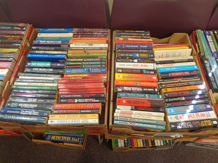 More Mystery/Thriller Paperbacks at Willington Public Library's Annual Book Sale