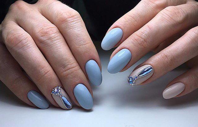 Прекрасные   nailsoftheday.com #маникюрдня #ногти #гельлак #дизайнногтей #идеидляманикюра #мастерманикюра #nailмастер #gelpolish #nails #маникюр #нежныйманикюр #кристаллы #инкрустация #голубые