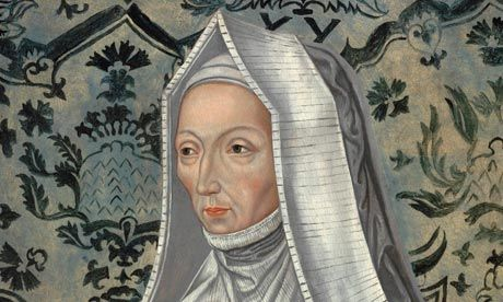 A rare Tudor portrait of Margaret Beaufort, the formidable grandmother of Henry VIII, has been unveiled by the historian David Starkey at Hever Castle in Kent