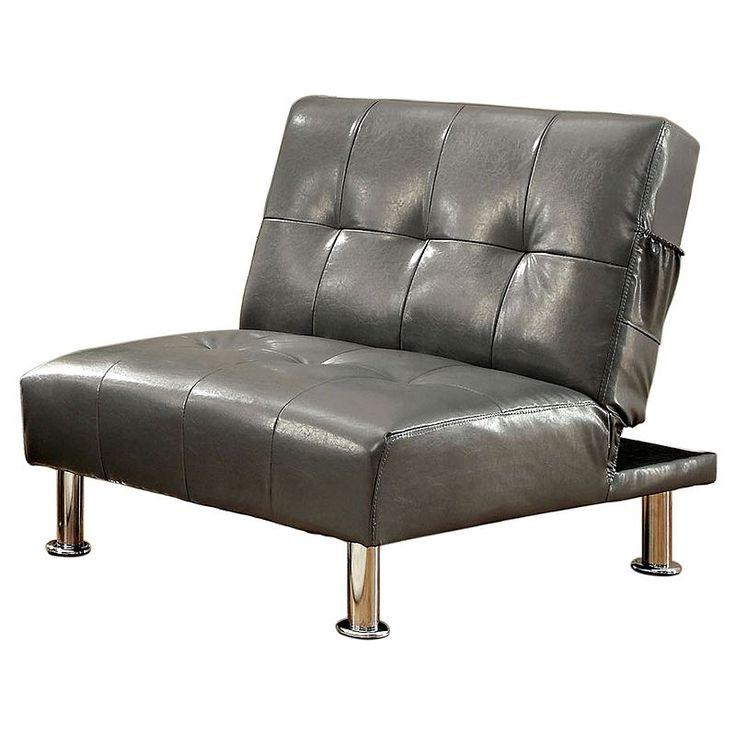 ve ian worldwide transitorio futon chair grey v  ce ne   25 nejlep    ch n  pad   na pinterestu na t  ma futon chair