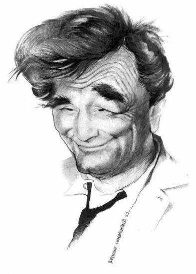 no good caricactures | Stars Portraits - Portrait de Peter Falk par caricature-online
