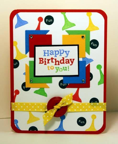 Board Game Birthday Wish By BasketMom