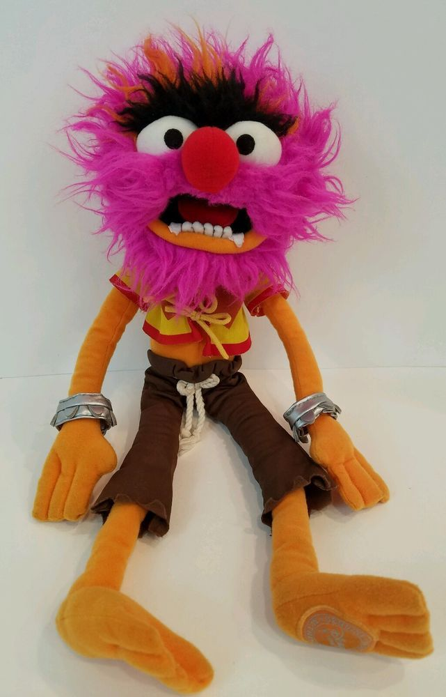 "Animal Muppet Show Stuffed Plush Animal Drummer Disney Store 18"" x 6"" #Disney"