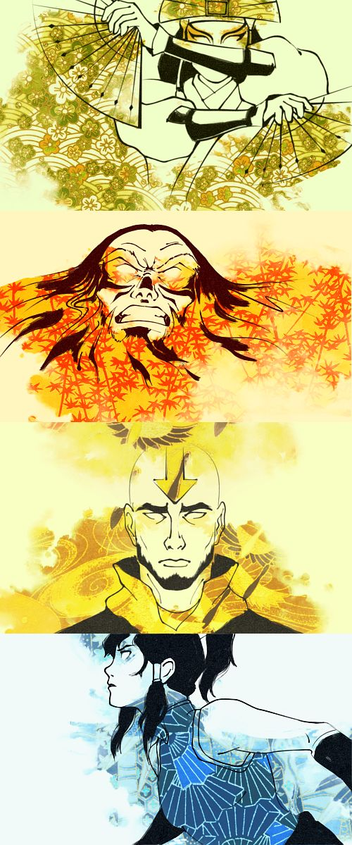 Avatar cycle so beautiful, it's a shame it as severed forever and ever. *like a…
