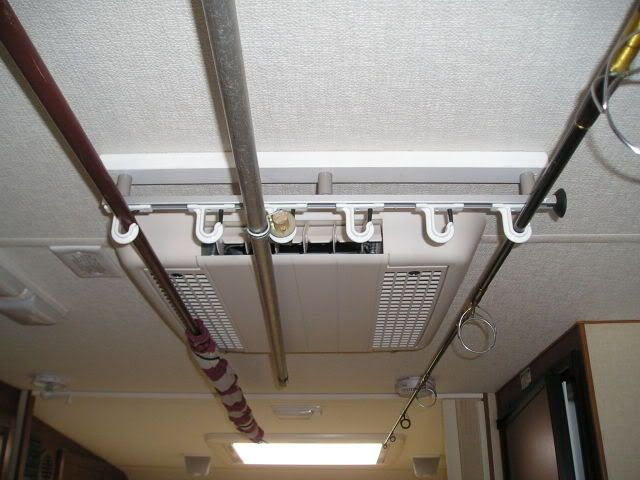 Innovative Storage Tip 8 Store Awning Poles Or A TV Antenna Underneath Your