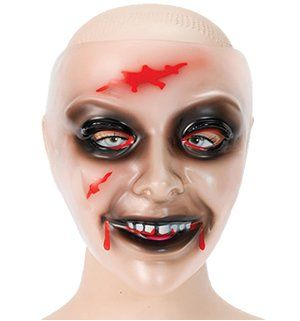 Ladies Transparent Zombie Mask @ niftywarehouse.com #NiftyWarehouse #Zombie #Horror #Zombies #Halloween