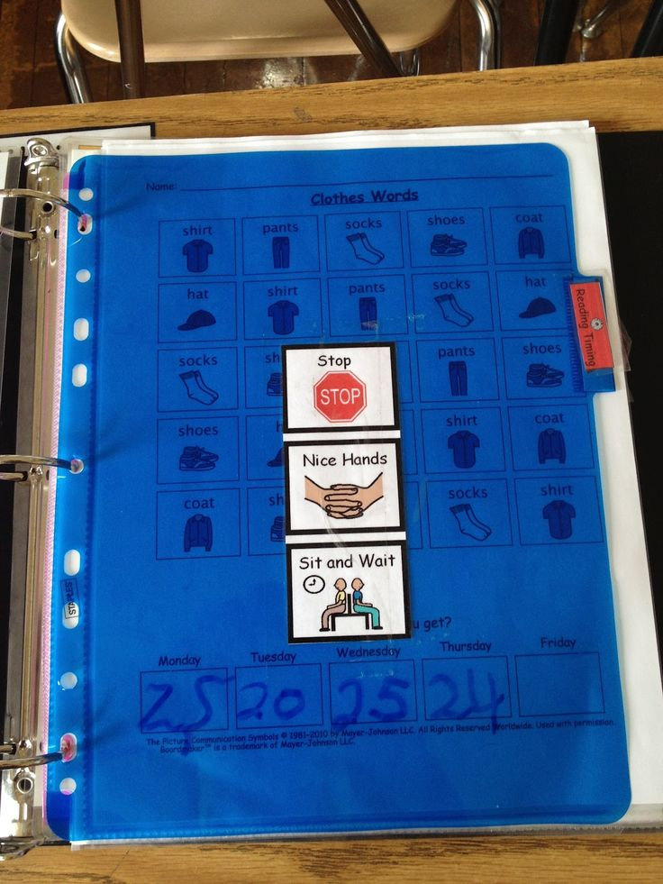 Classroom Ideas For High School ~ Autism tank morning work binders teacch pinterest