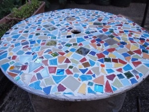 Diy Mosaic Tile Table Top! Iu0027m Excited To Try This!
