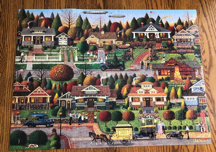 Glue Jigsaw Puzzle Together