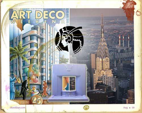 art deco chrysler building new york city - Google Search