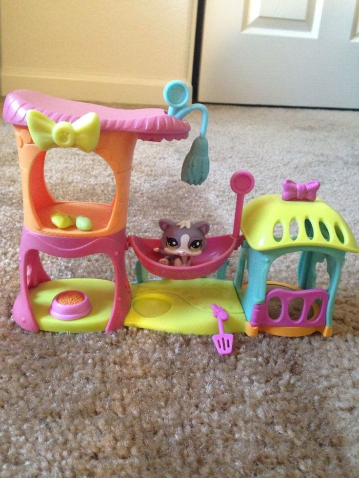 Littlest Pet Shop Cat and Meow Manor #Hasbro