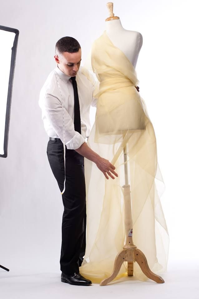 Draping Fashion Design Fashiondesign Michaeldepaulo
