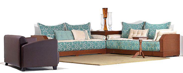 25 b sta salon marocain richbond id erna p pinterest canap marocain moderne salon oriental. Black Bedroom Furniture Sets. Home Design Ideas
