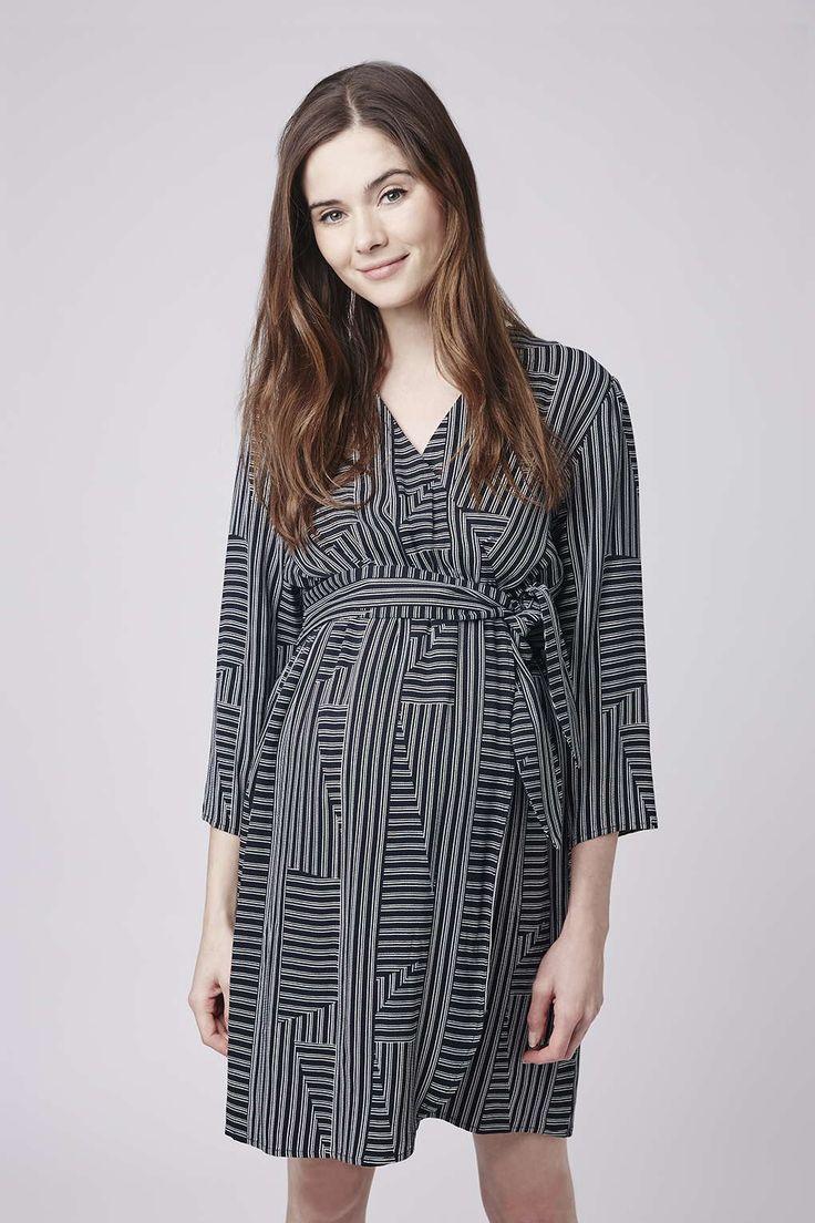 417 best bump wear images on pinterest maternity fashion maternity stripe wrap dress ombrellifo Images