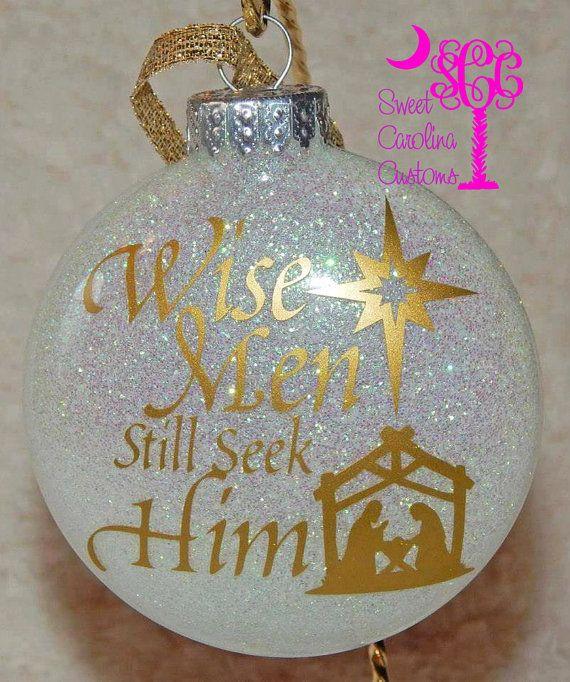 25+ Best Ideas About Glitter Ornaments On Pinterest