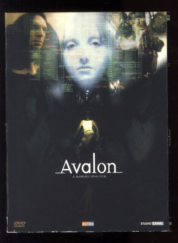 AVALON  Mamoru OSHII   Film + Bonus + Livret    Digipack 2 DVD ZONE 2