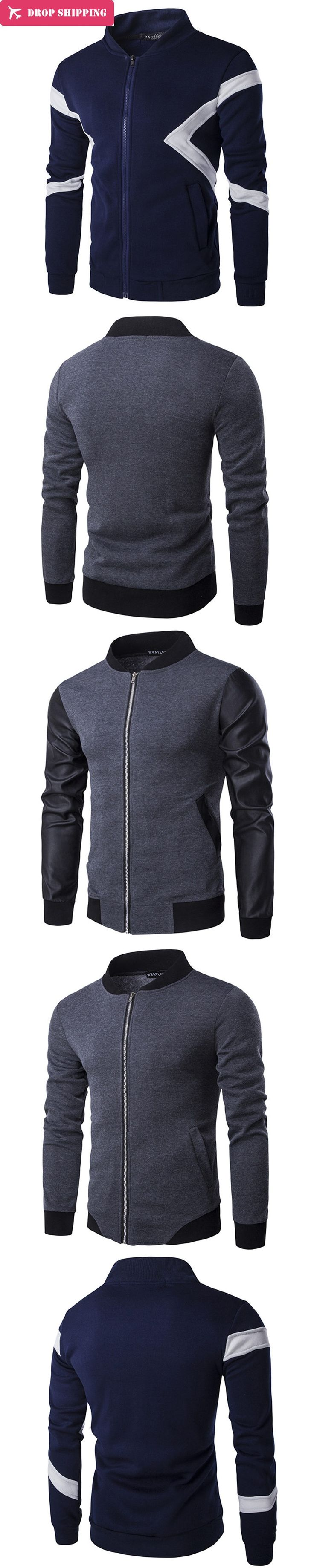 Mensautumn new Bomber Jacket male Cardigan men Winter coat Personalized tops zipper Warm cotton top coat cloak Slim Hoodies,X131