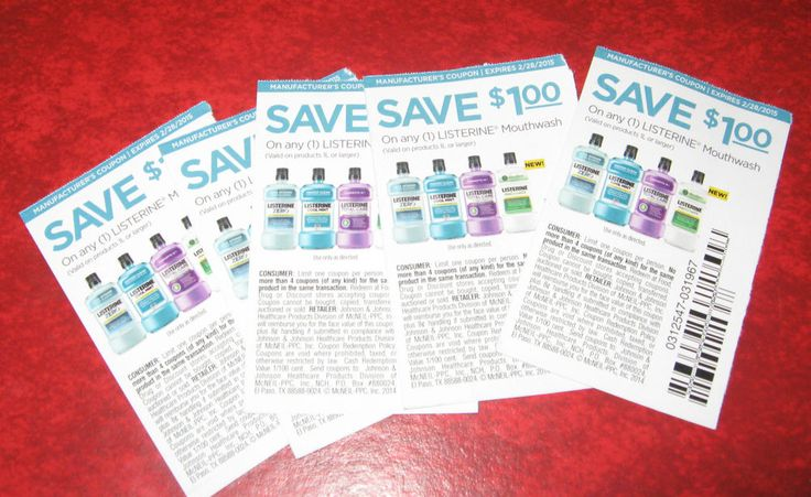 8 - Listerine Coupons Save!!!
