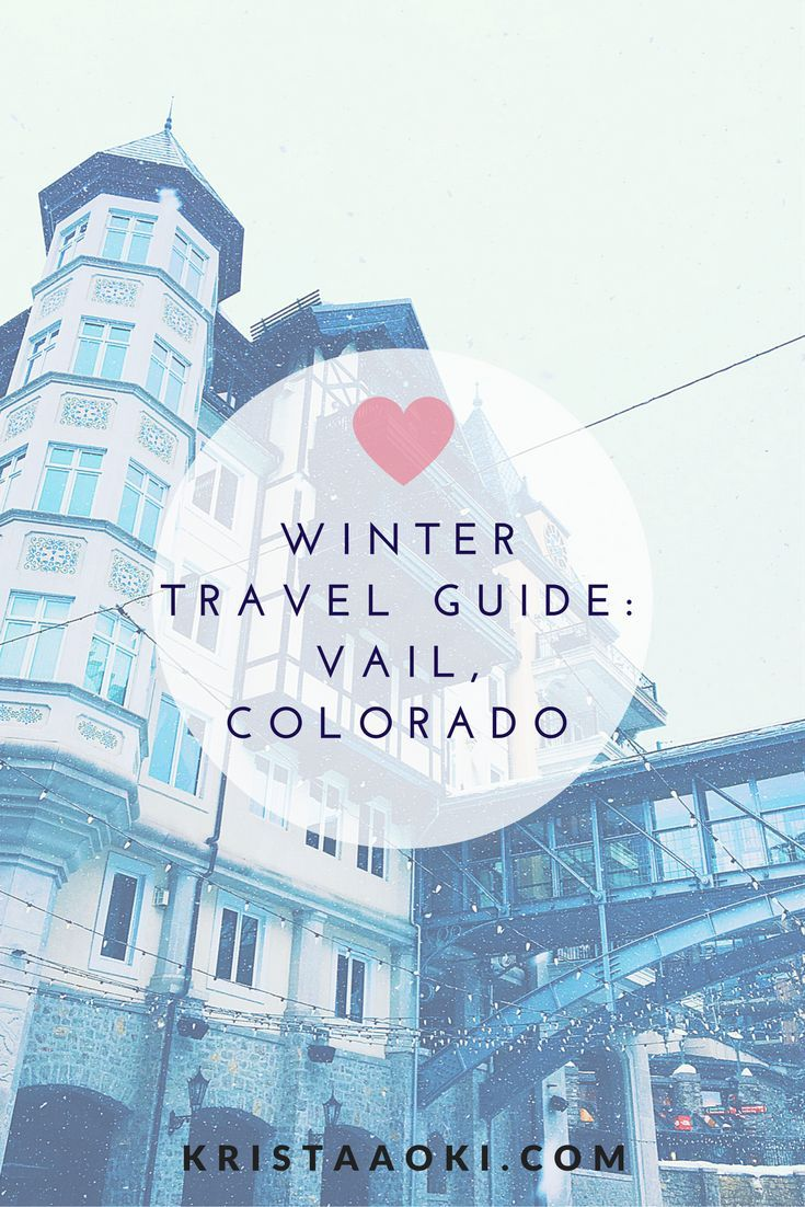 Winter Travel Guide: Vail, Colorado @ kristaaoki.com, a lifestyle & travel blog | Vail is a world renowned skiing and snowboarding destination. What does it have to offer apres ski and off the slopes?