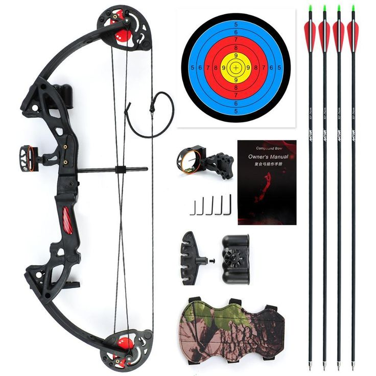 Compound Bow for Teens and Kids,Adjustable Twin Cam 15