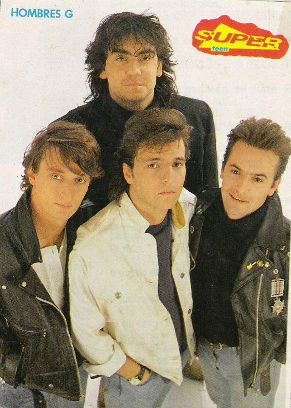 En los 80's: Hombres G