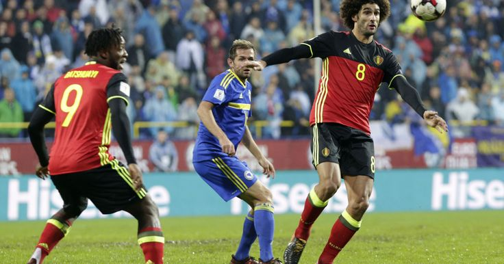 Fellaini has knee ligament damage, says Belgium coach