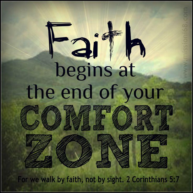 Bible Writer: Escape the Comfort Zone!