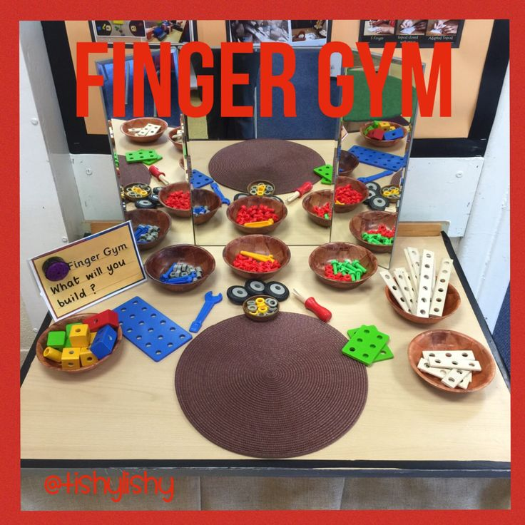Finger Gym - Construction kit.