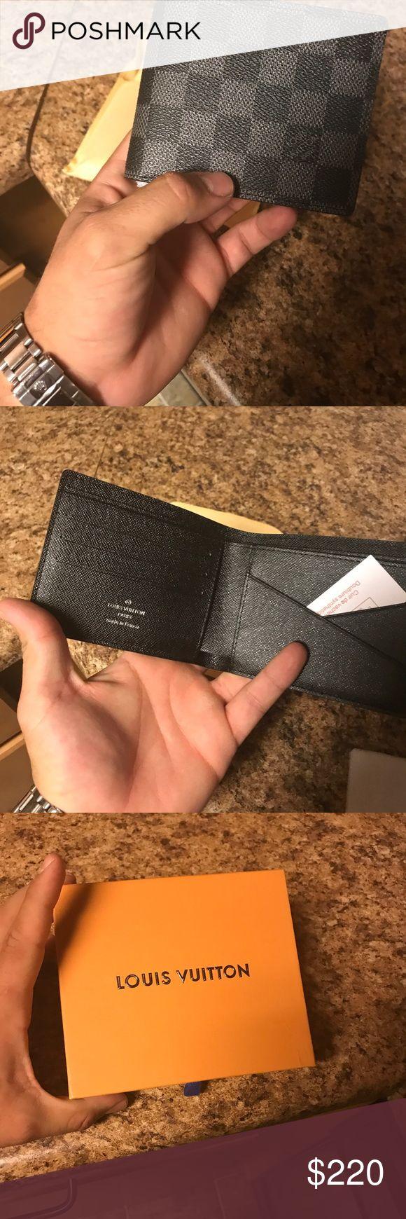 Louis Vuitton men's wallet Fresh wallet! Louis Vuitton Bags Wallets