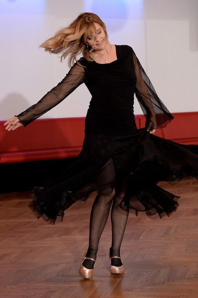 Nastassja Kinski Photos Photos - Nastassja Kinski poses at a photo call for the television competition 'Let's Dance' on March 9, 2016 in Cologne, Germany. On March 11th, the show, in which celebrities compete at dancing, goes into its ninth round on the German network RTL. - Nastassja Kinski Trains for 'Let's Dance'