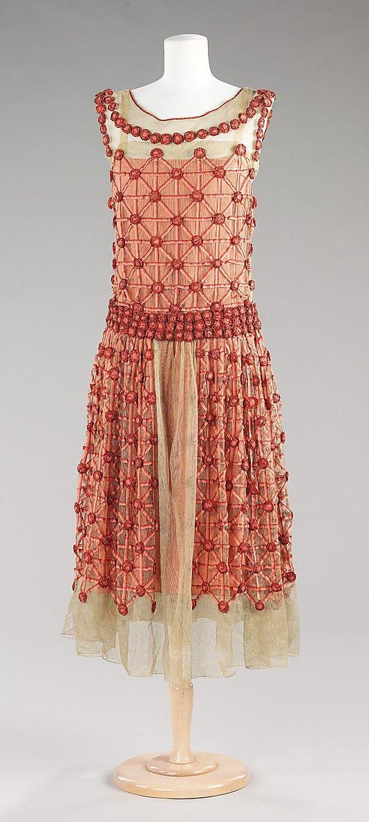 Lanvin summer dress, 1923