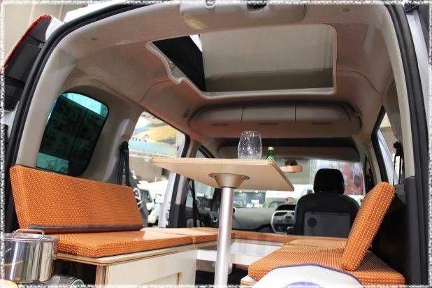 カングーをカスタムしてキャンプで車中泊 Diyer S ルノー 車中泊 カングー キャンプ