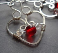 How to Make Bead and Wire Hearts for Jewelry - The Beading Gem's Journal